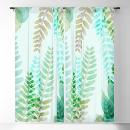 Dappled Palms I Blackout Curtain