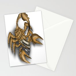 Texas Scorpion Stationery Cards