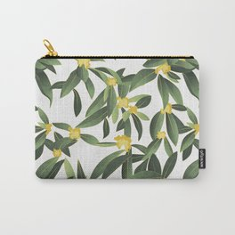 Loquat medlar tree in Autumn II Carry-All Pouch