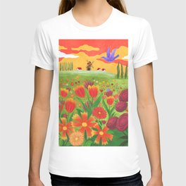 Flowers field T-shirt