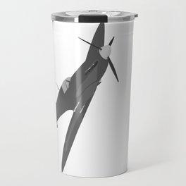 Silver Spitfire Travel Mug