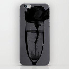 Liquid rose iPhone Skin