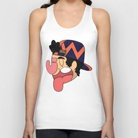 hat Tank Tops featuring hat by Julian Ybarra