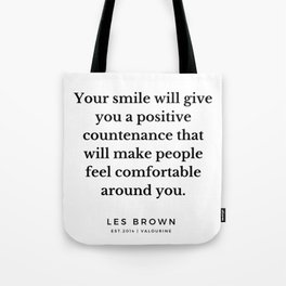29 |  Les Brown  Quotes | 190824 Tote Bag