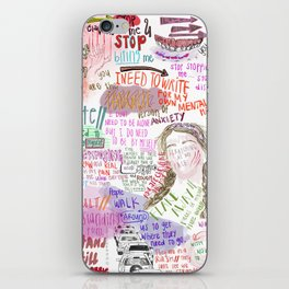 journal entry 1 iPhone Skin