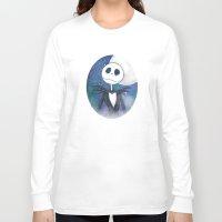 jack skellington Long Sleeve T-shirts featuring Jack Skellington by MythicPhoenix