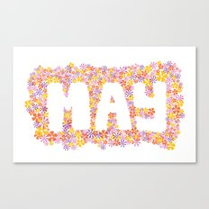 May Flowers Canvas Print