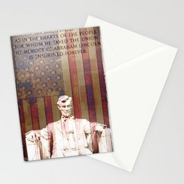 United Lincoln Stationery Cards