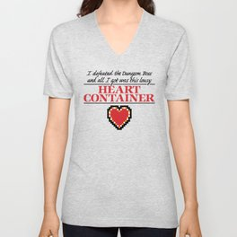 Lousy Heart Container Unisex V-Neck