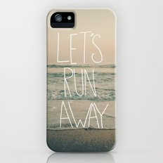 Let's Run Away by Laura Ruth and Leah Flores  Slim Case iPhone (5, 5s)