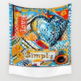 Love, Simply... Wall Tapestry