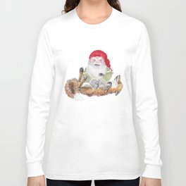 The gnome and his friend the fox - Christmas Long Sleeve T-shirt