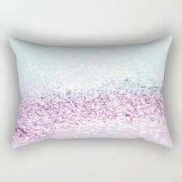 Mermaid Girls Glitter #1 #shiny #pastel #decor #art #society6 Rectangular Pillow