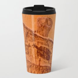 Great Gallery Pictograph Close-up Canyonlands National Park - Utah Travel Mug