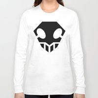 bleach Long Sleeve T-shirts featuring Bleach Skull 2 by Prince Of Darkness