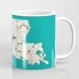 Louisiana in Flowers Coffee Mug