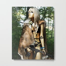 Hunter Metal Print