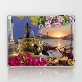 Montage Portugal Laptop & iPad Skin