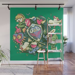 Let's Roll Link Wall Mural