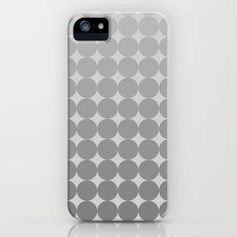 White Circles iPhone Case