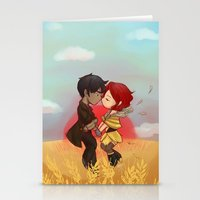 transistor Stationery Cards featuring Transistor by gohe1090