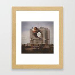 Just Ordinary Soviet Building Framed Art Print