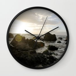 Ocean Breeze Wall Clock