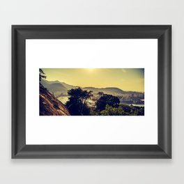 Landscape Rio de Janeiro Framed Art Print