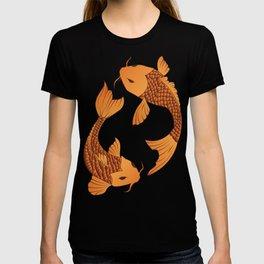 Carp Koi Fish in pond 001 T-shirt
