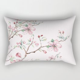 Apple Blossom Pink #society6 #buyart Rectangular Pillow