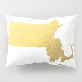 Usa Map Gold Foil Printable Art Wall Art Real Gold Foil 8x10 Canvas Usa State Map Minnesota Map Gold Pillow Sham