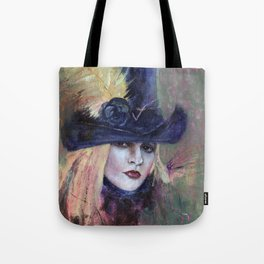 Stevie Nicks My Heart Tote Bag