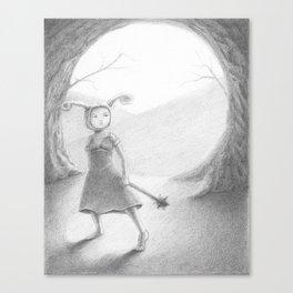 The Purge Canvas Print