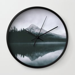 Mount Hood VIII Wall Clock