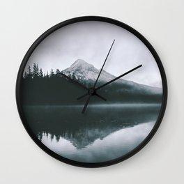 Mount Hood VIII Wall Clock