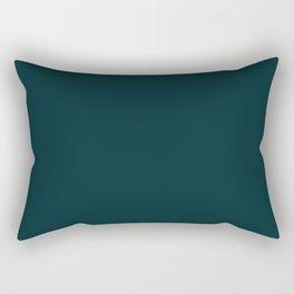 Midnight Teal  Rectangular Pillow