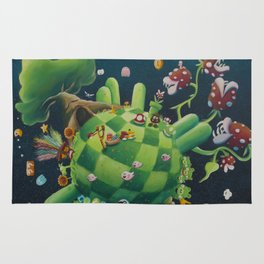 The consoling planet Rug