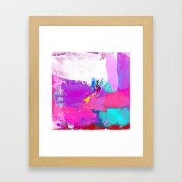 polo abstract Framed Art Print