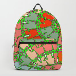 girafe pattern Backpack