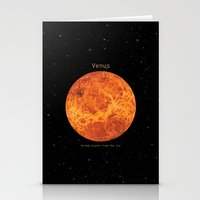 venus Stationery Cards featuring Venus by Terry Fan