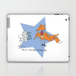 The Price of Being Cool Laptop & iPad Skin