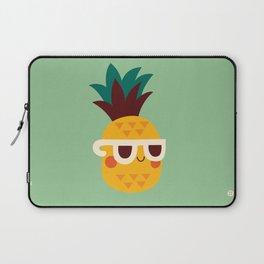 Sunny Funny Pineapple Laptop Sleeve