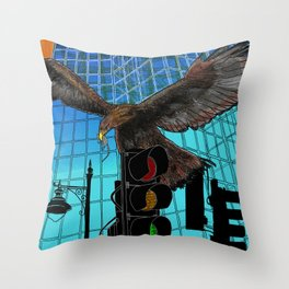 Ecotone 2 Throw Pillow