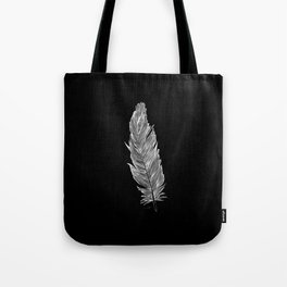 Light white feather Tote Bag
