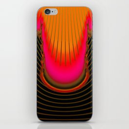 Darkness and light are sisters ... iPhone Skin