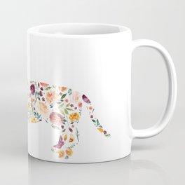 Dachshund - Watercolor/Floral Coffee Mug