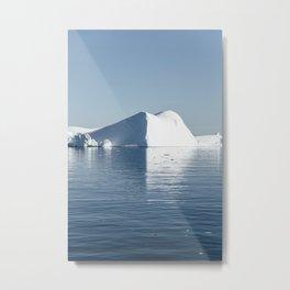 iceberg reflection at Disko Bay Metal Print