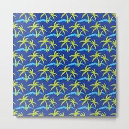 Palm Tree Breeze Metal Print