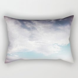 Clouds in the Sky You Know How I Feel Rectangular Pillow