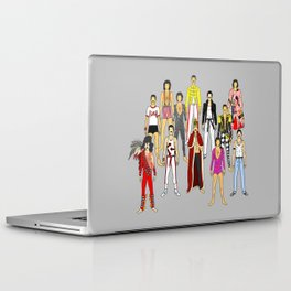 Freddie Line Up Laptop & iPad Skin